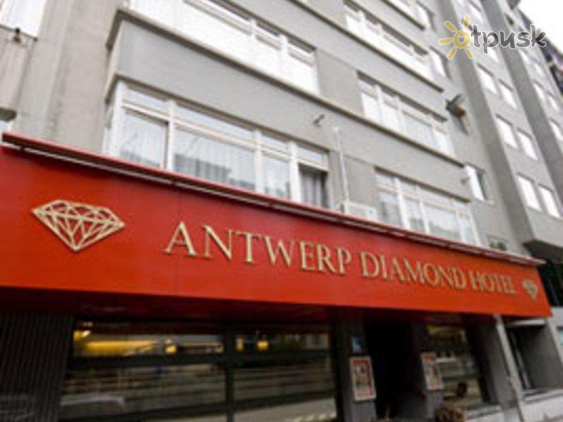 Отель Antwerp Diamond Hotel 3* Антверпен Бельгия
