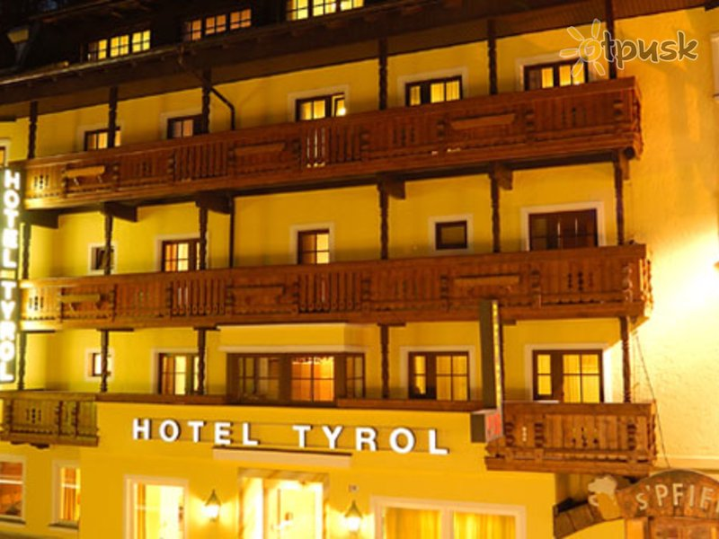 Отель Tyrol Hotel 3* Зельден Австрия