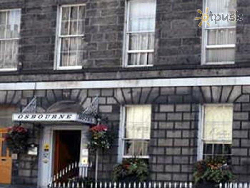 Отель The Osbourne Hotel 2* Эдинбург Великобритания