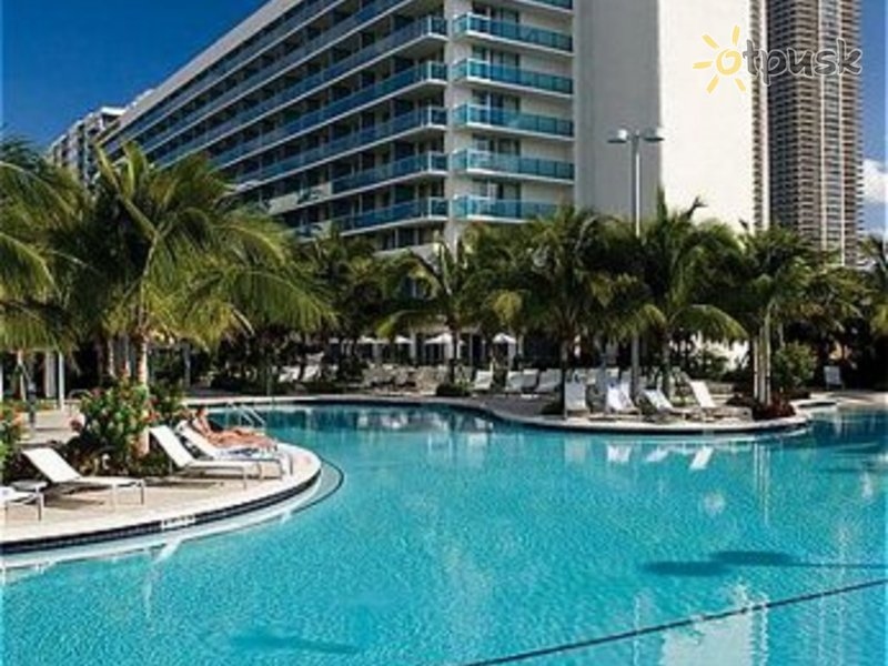 Отель Crowne Plaza Hollywood Beach 3* Майами США