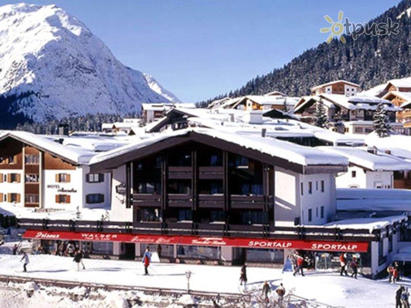 Отель Aktiv Hotel Jagdhaus Monzabon 4* Лех Австрия