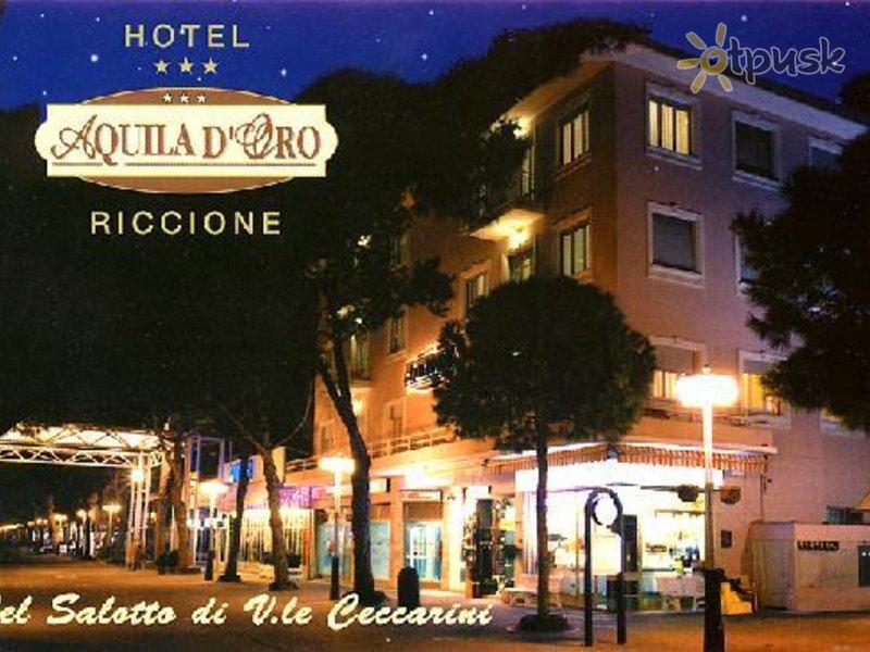 Отель Aquila D'Oro Hotel 3* Римини Италия