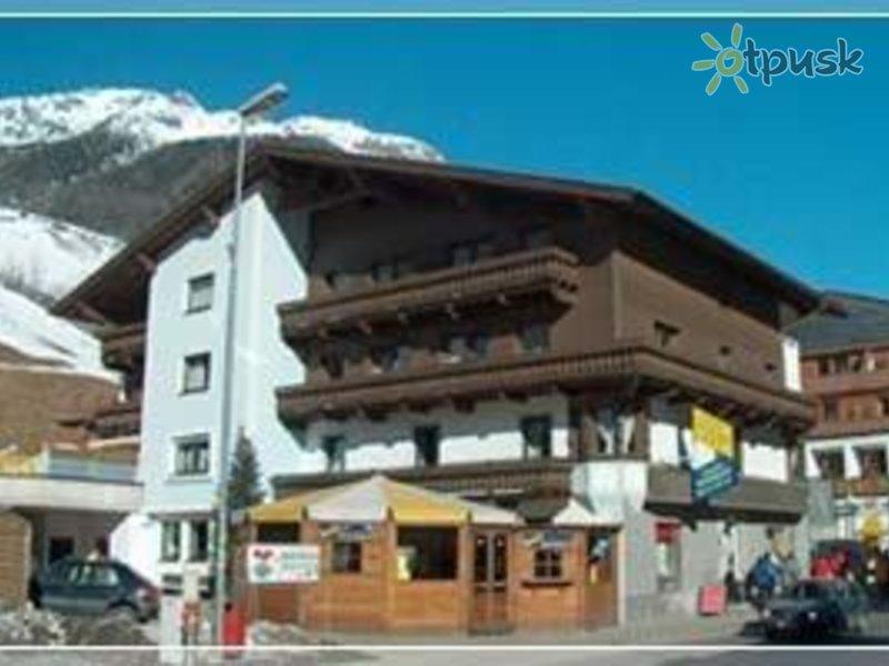 Отель Gletscherblick 3* Зельден Австрия