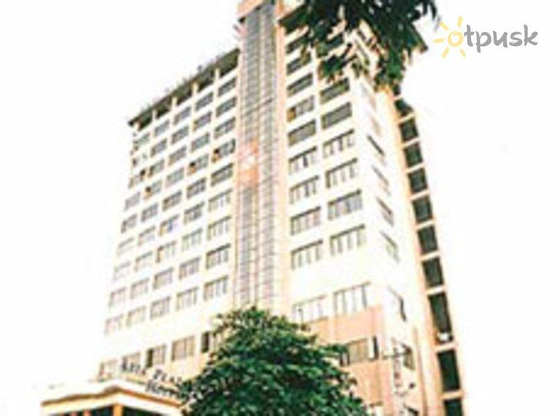 Отель Asia Plaza Hotel 4* Янгон Мьянма