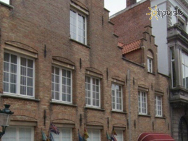 Отель Anselmus Hotel 3* Брюгге Бельгия