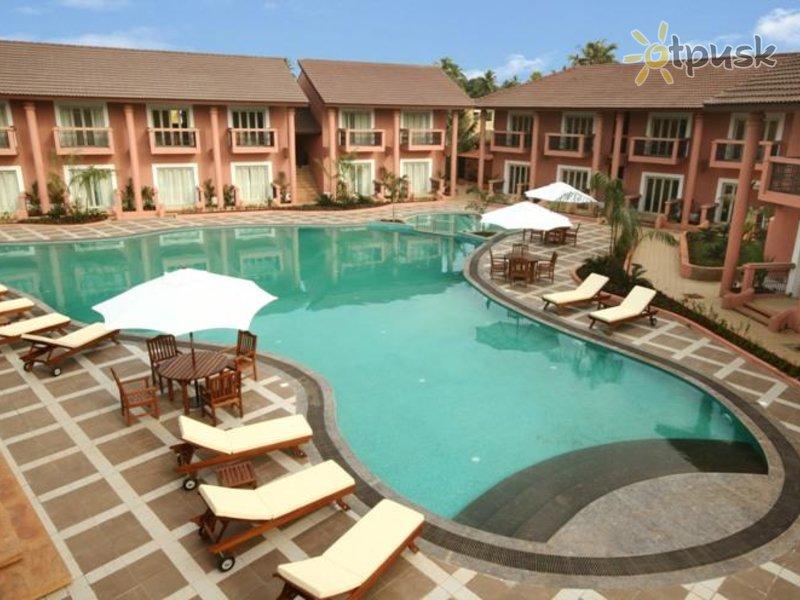 Отель The Golden Crown Hotel & Spa 4* Южный Гоа Индия