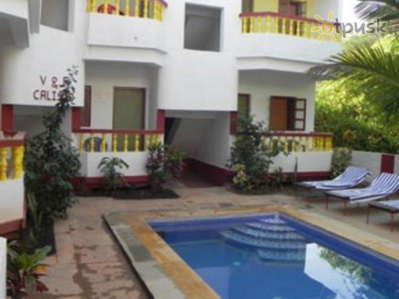 Отель V & M Calisto 1* Северный Гоа Индия