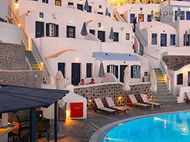 Отель Volcano View Hotel & Villas 4* о. Санторини (Св. Ирина) Греция