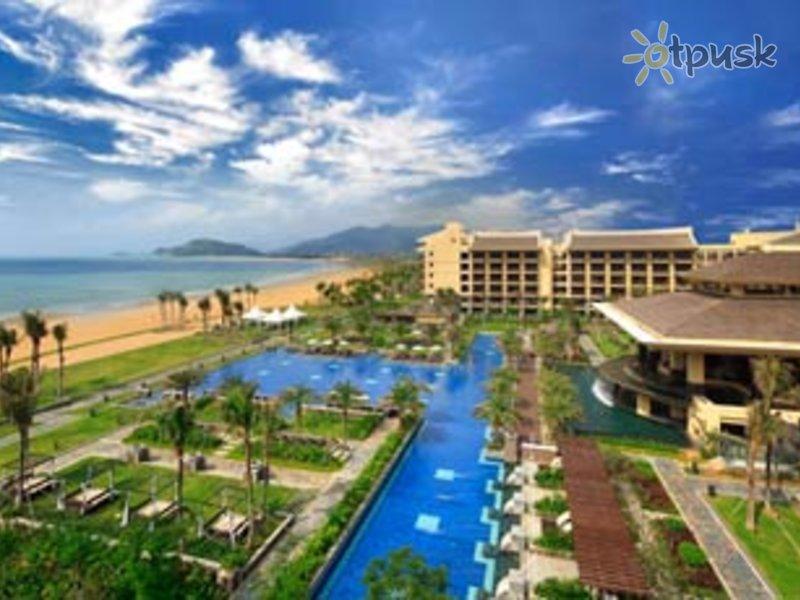 Отель Sheraton Shenzhou Peninsula Resort 5* о. Хайнань Китай