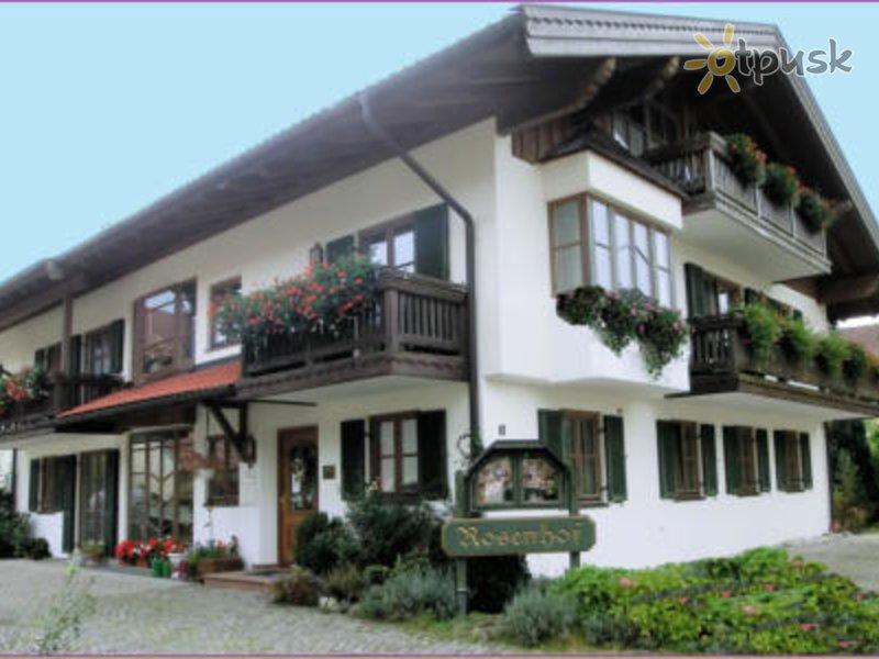 Отель Feriendomizil Rosenhof 3* Рупольдинг Германия