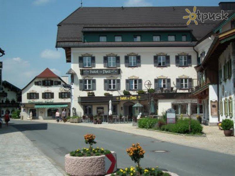 Отель Post Ruhpolding Hotel 4* Рупольдинг Германия