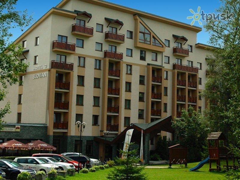 Отель Slovan Hotel 3* Татранска Ломница Словакия