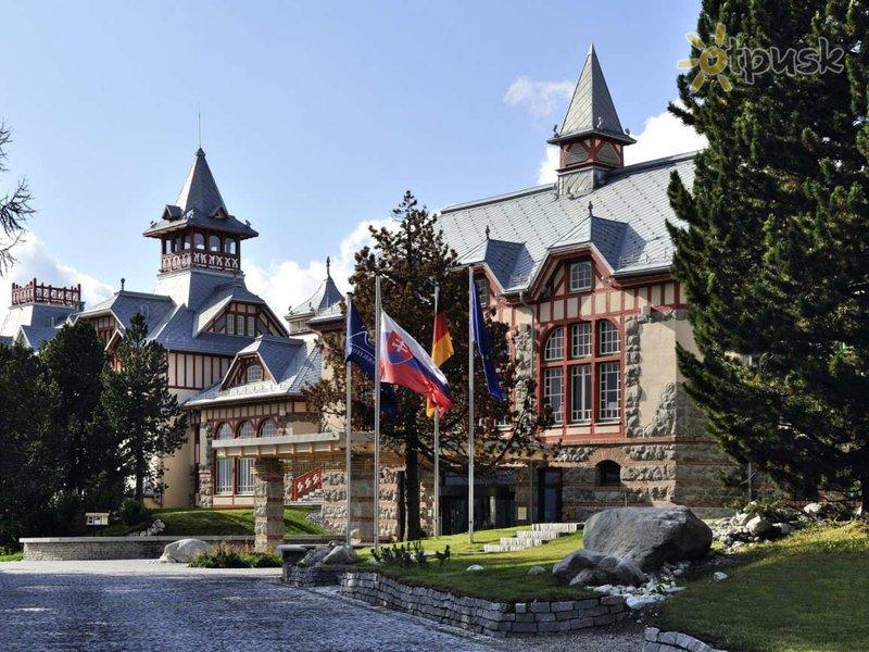 Отель Grand Hotel Kempinski High Tatras 5* Штрбске Плесо Словакия