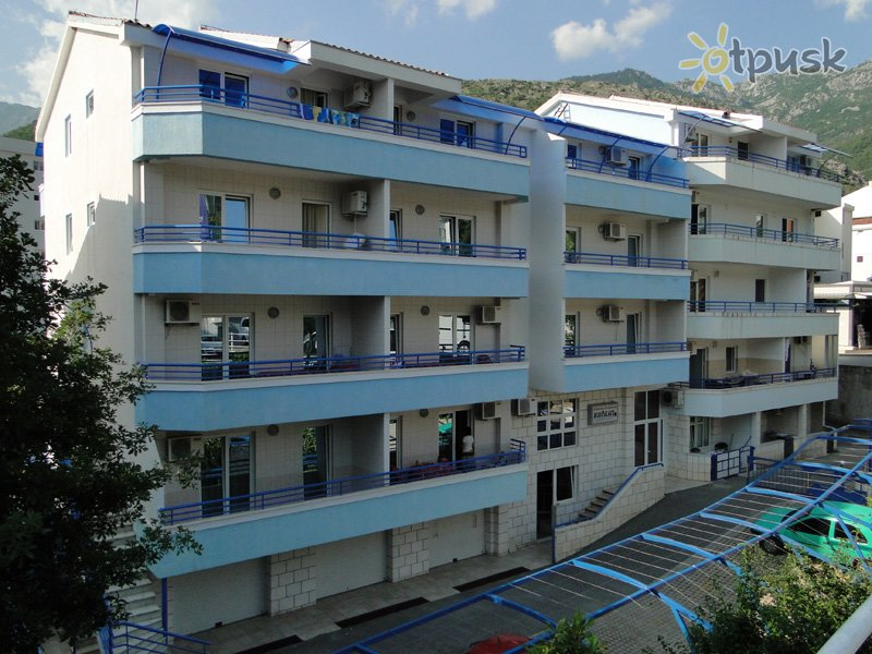 Отель Blue Palace Apartmani 3* Бечичи Черногория