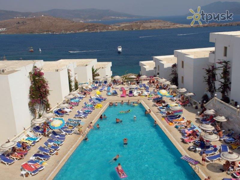 Отель Peda Gumbet Holiday Beach Hotel 3* Бодрум Турция