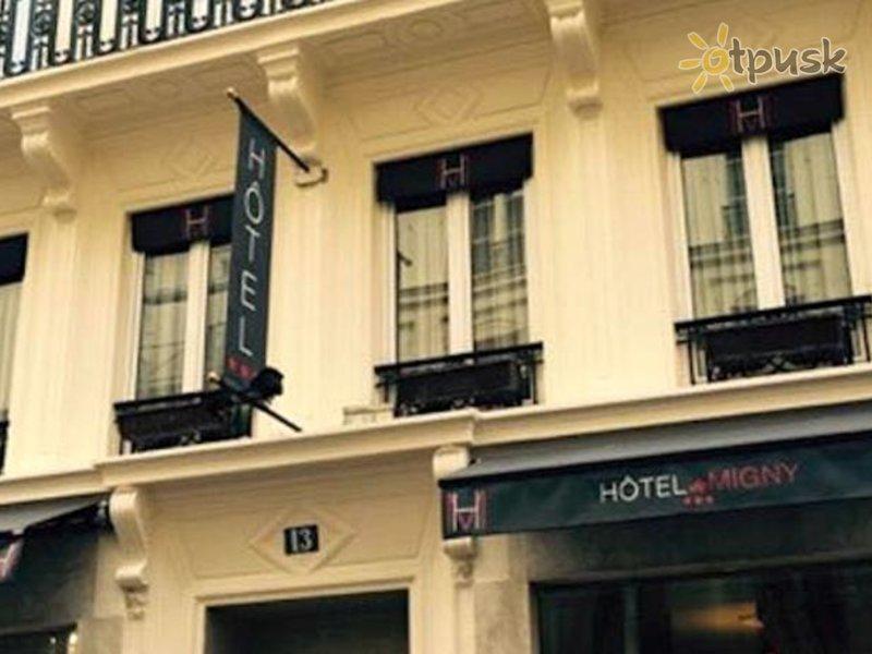Отель Migny Opera Montmartre Hotel 3* Париж Франция