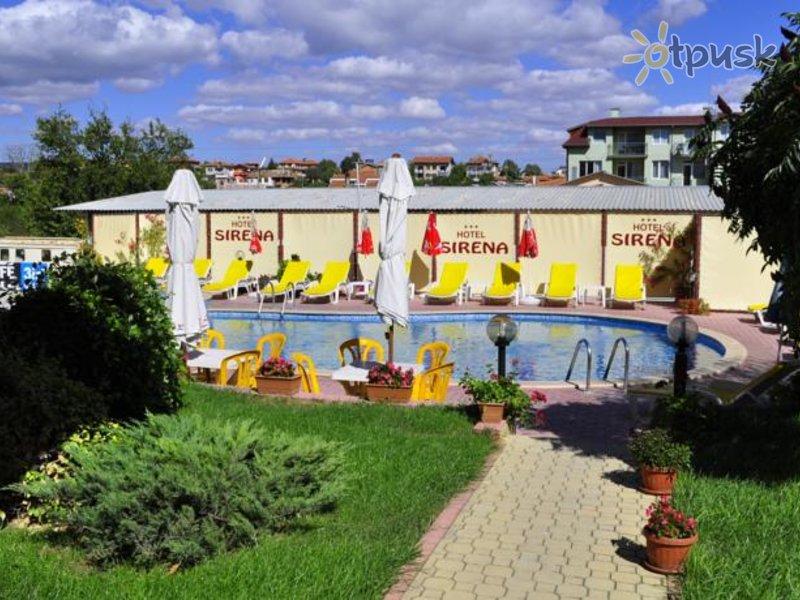 Отель Sirena Hotel 3* Кранево Болгария