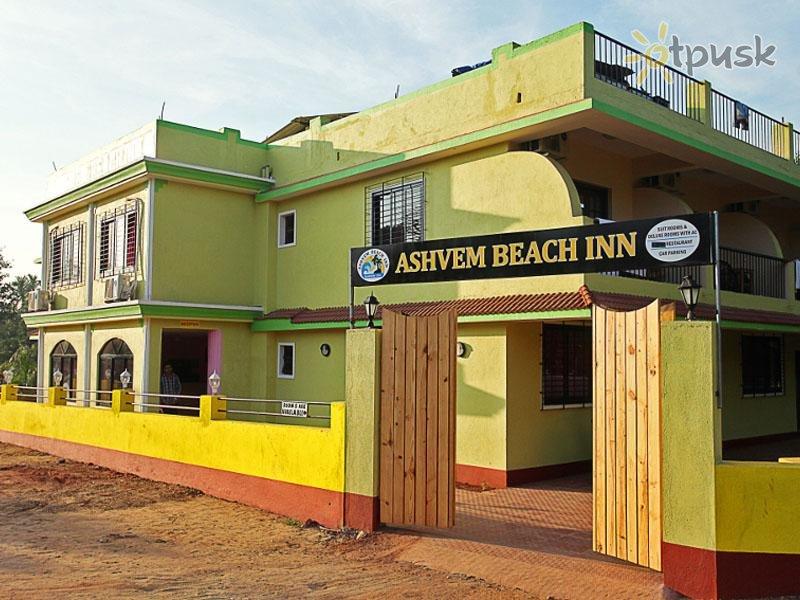 Отель Ashvem Beach Inn 3* Северный Гоа Индия