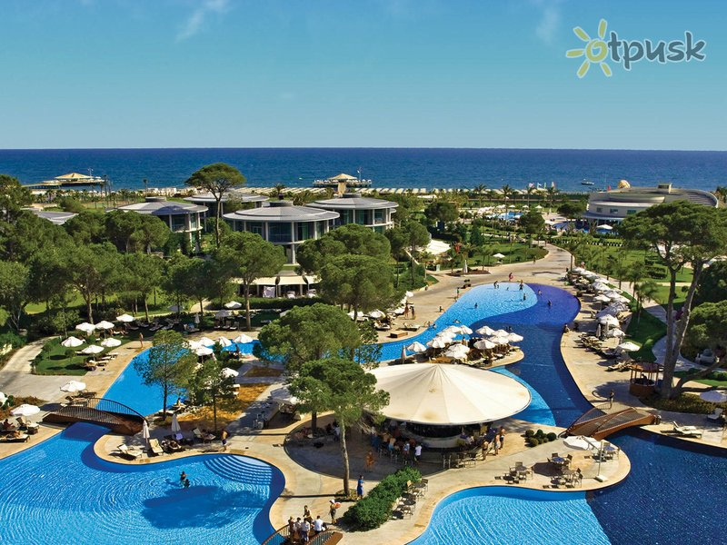 Отель Calista Luxury Resort 5* Белек Турция