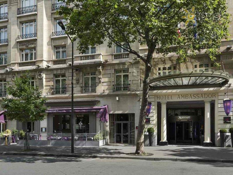 Отель Paris Marriott Opera Ambassador Hotel 4* Париж Франция