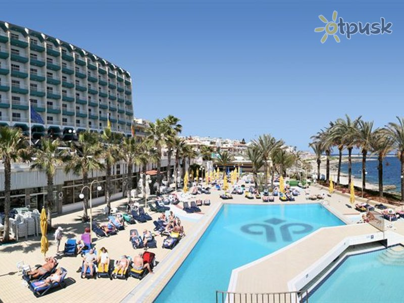 Отель Qawra Palace Hotel 4* Аура Мальта