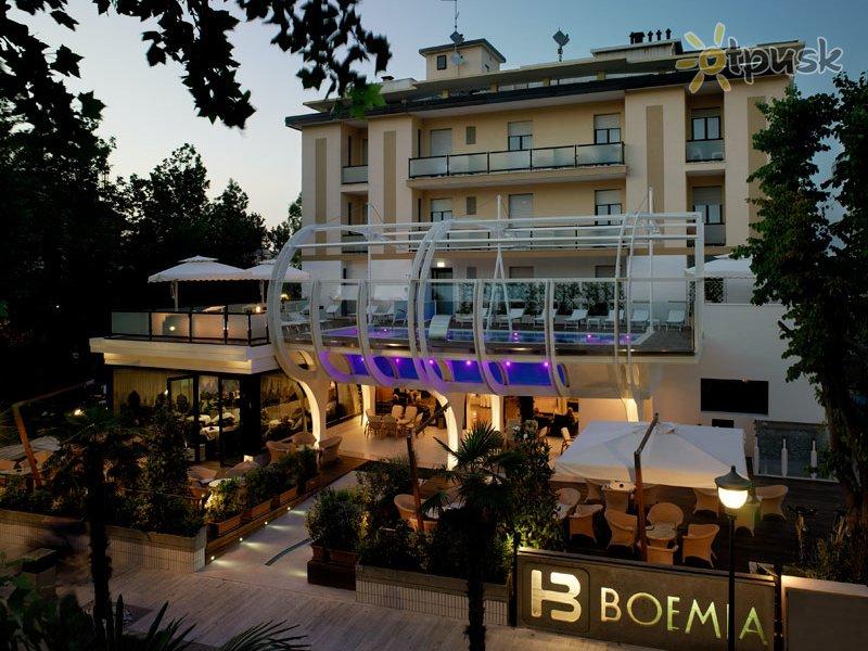 Отель Boemia Hotel 4* Римини Италия