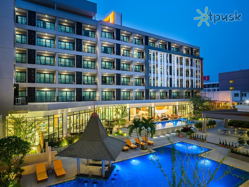 Отель J Inspired Hotel Pattaya 4* Паттайя Таиланд