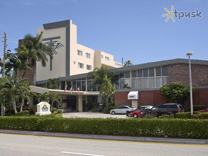 Отель Days Hotel Thunderbird Beach Resort 2* Майами США