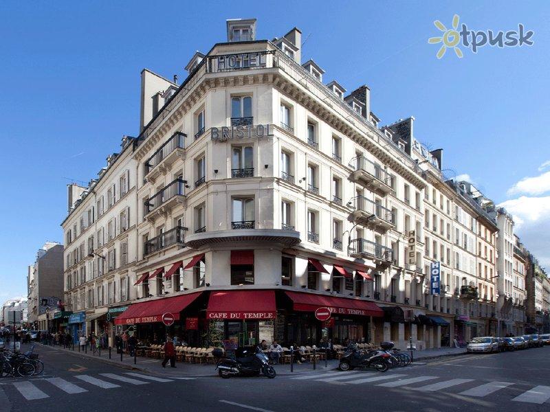 Отель Bristol Republique 3* Париж Франция