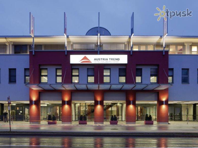 Отель Salzburg West Austria Trend Hotel 4* Зальцбург Австрия
