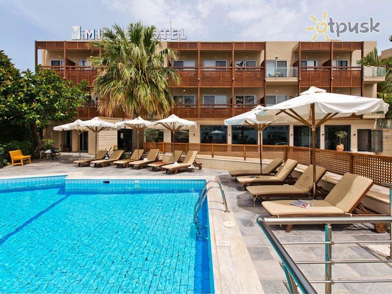 Отель Minos Hotel 4* о. Крит – Ретимно Греция