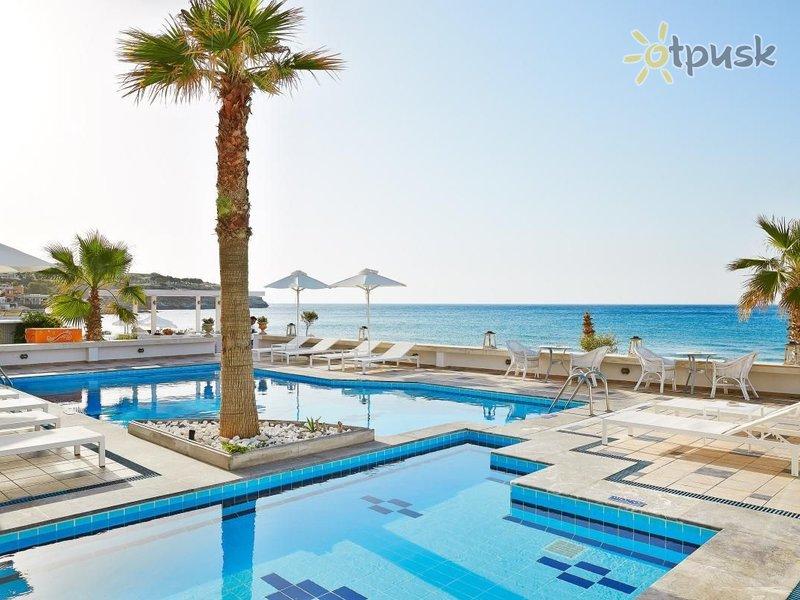 Отель Petradi Beach Lounge Hotel 3* о. Крит – Ретимно Греция