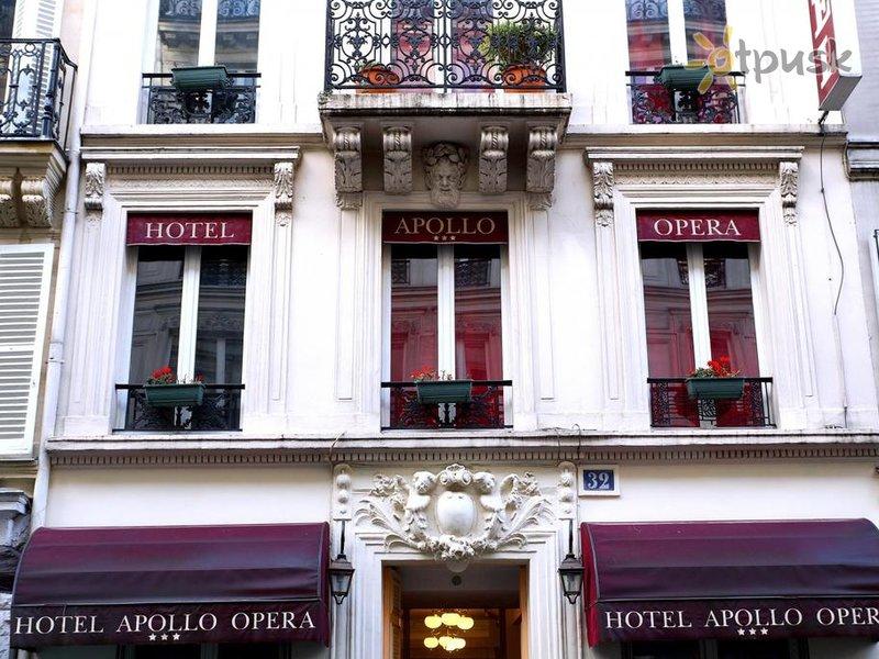 Отель Apollo Opera Hotel 3* Париж Франция