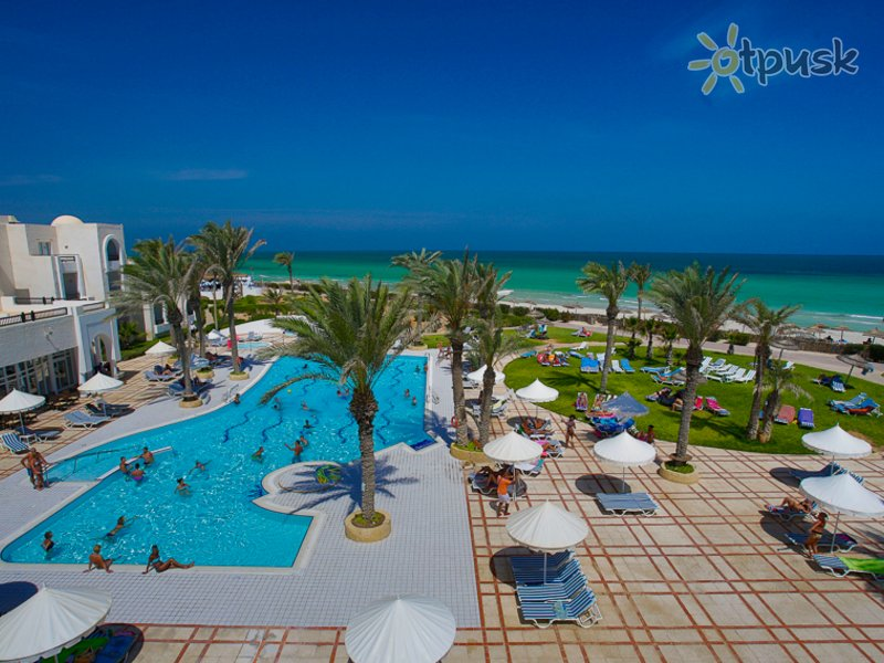 Отель Al Jazira Beach & Spa 3* о. Джерба Тунис