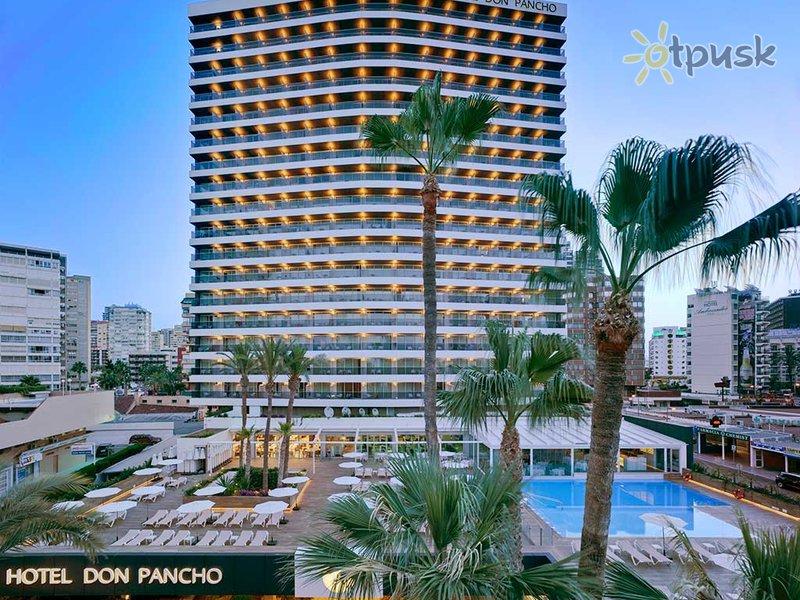 Отель Don Pancho Hotel 4* Коста Бланка Испания