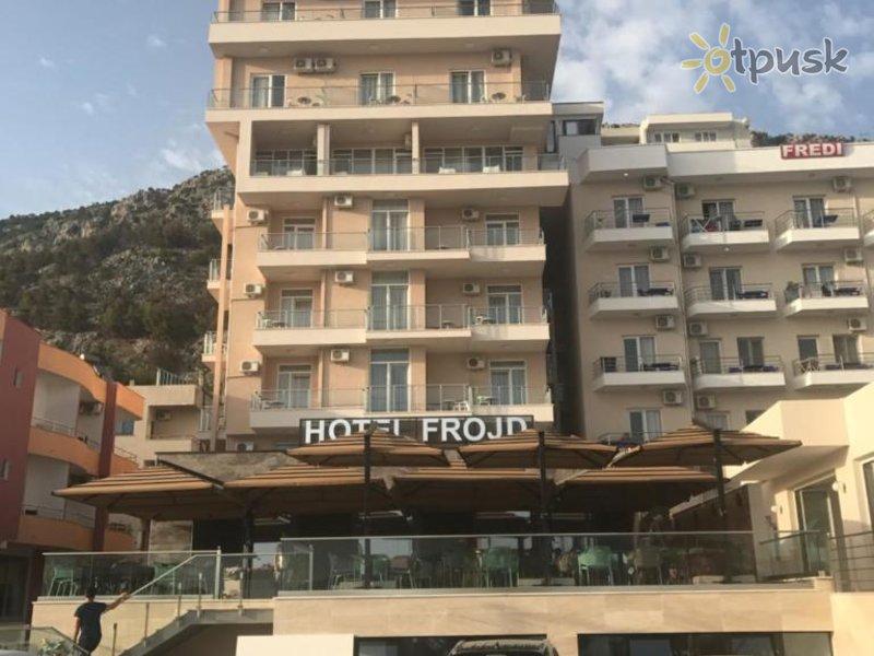 Отель Frojd Hotel 3* Тирана Албания