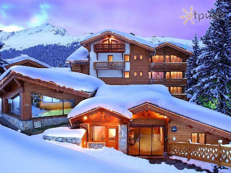 Отель Les Sherpas Hotel 3* Куршевель Франция