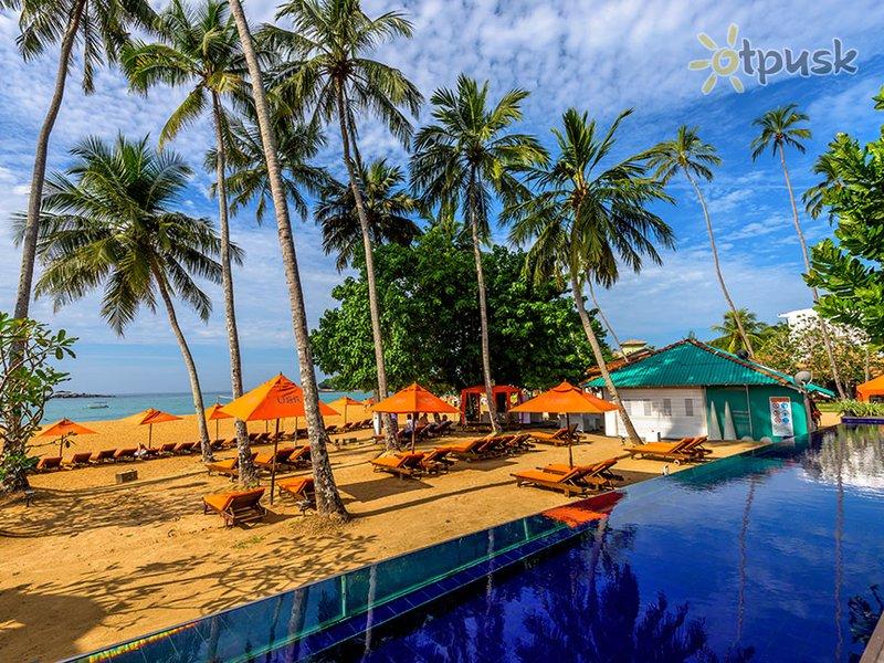 Отель Calamander Unawatuna Beach 3* Унаватуна Шри-Ланка