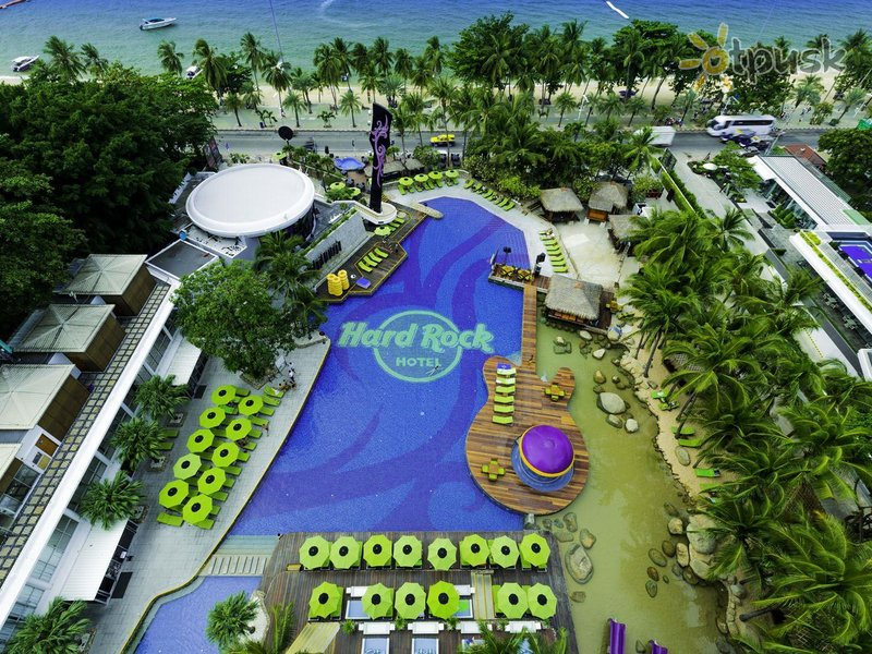 Отель Hard Rock Hotel 4* Паттайя Таиланд