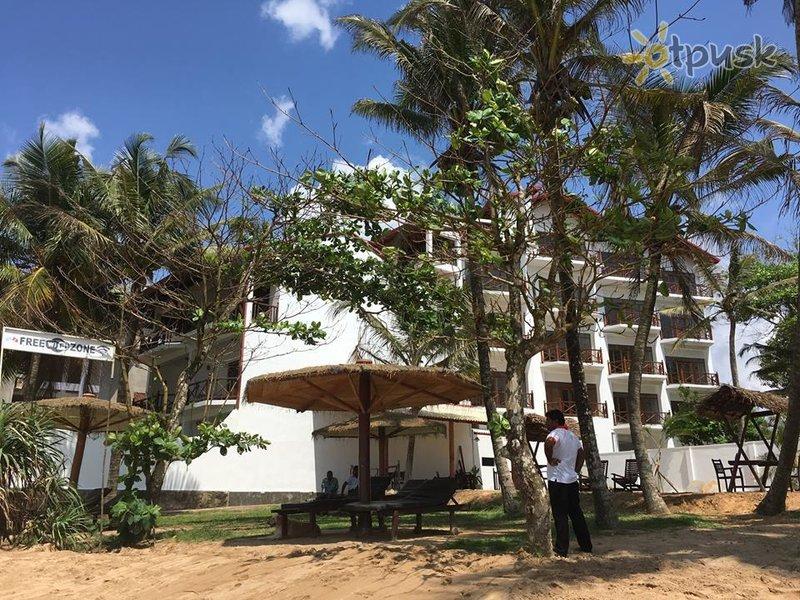 Отель Aussie Swiss Beach Resort 3* Матара Шри-Ланка