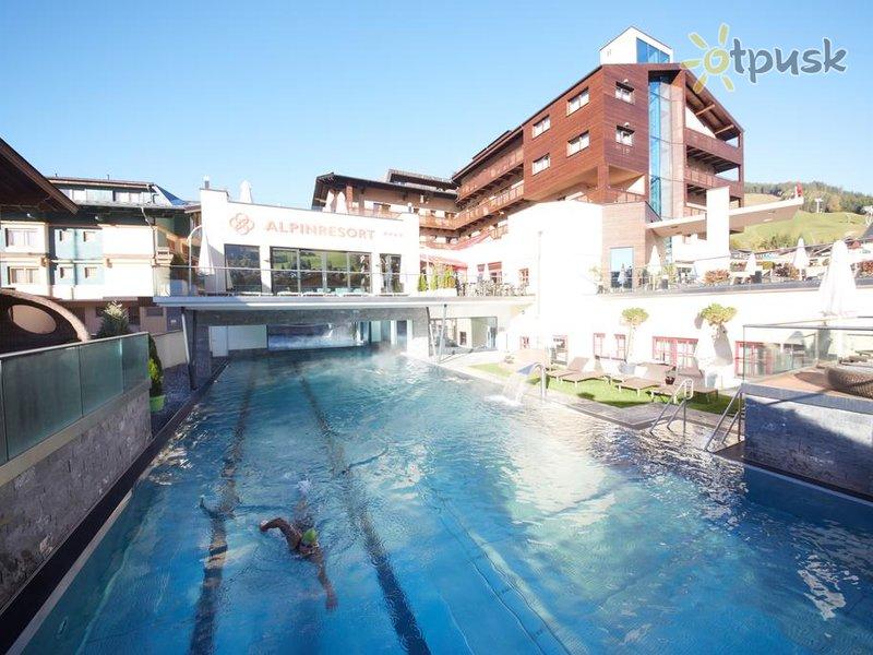 Отель Alpinresort Sport & Spa 4* Заальбах Австрия