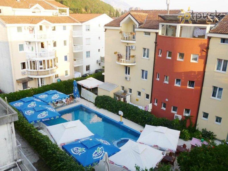 Отель Aquamarin Hotel 3* Будва Черногория