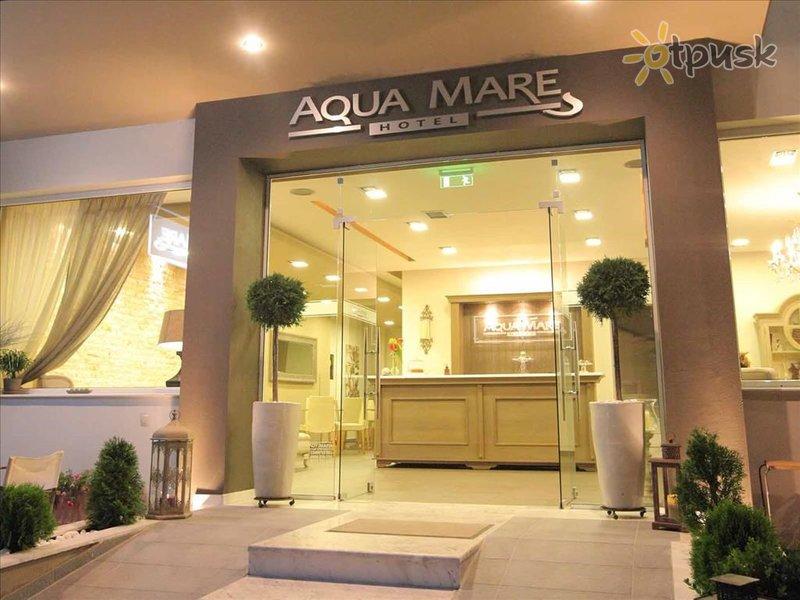 Отель Aqua Mare Hotel 3* Халкидики – Неа Калликратия Греция