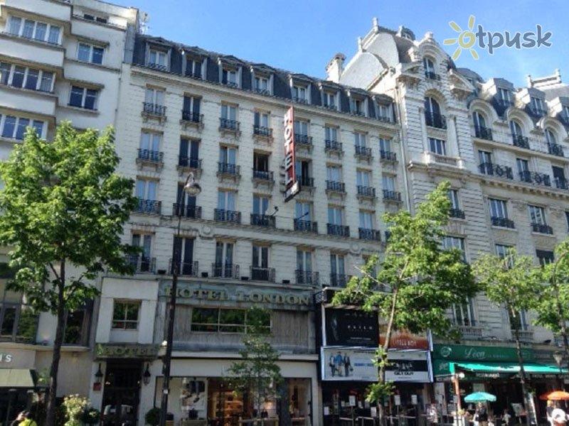 Отель London Opera 3* Париж Франция