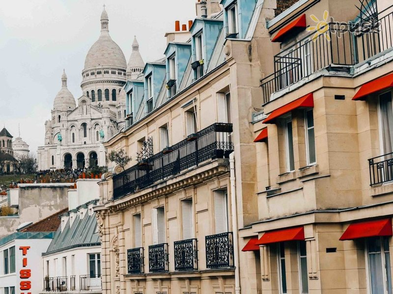 Отель Luxia Hotel 2* Париж Франция