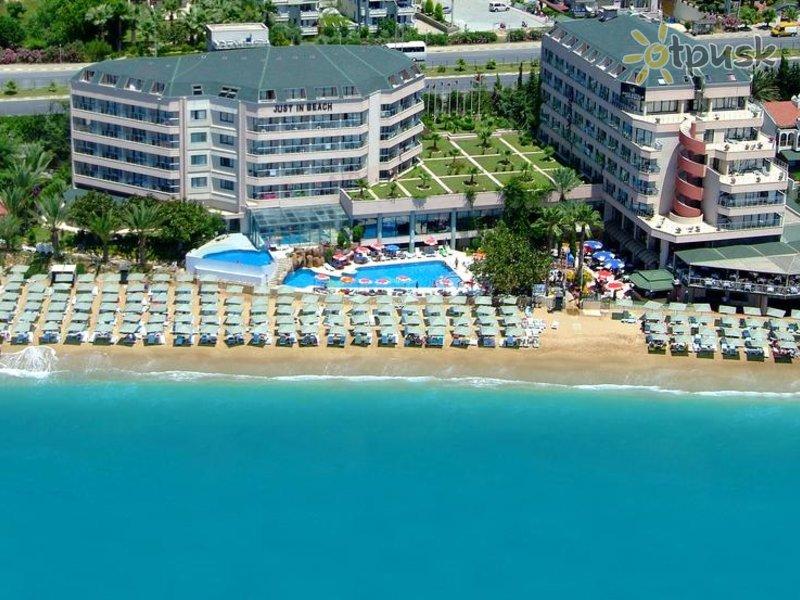 Отель Aska Just In Beach 5* Алания Турция