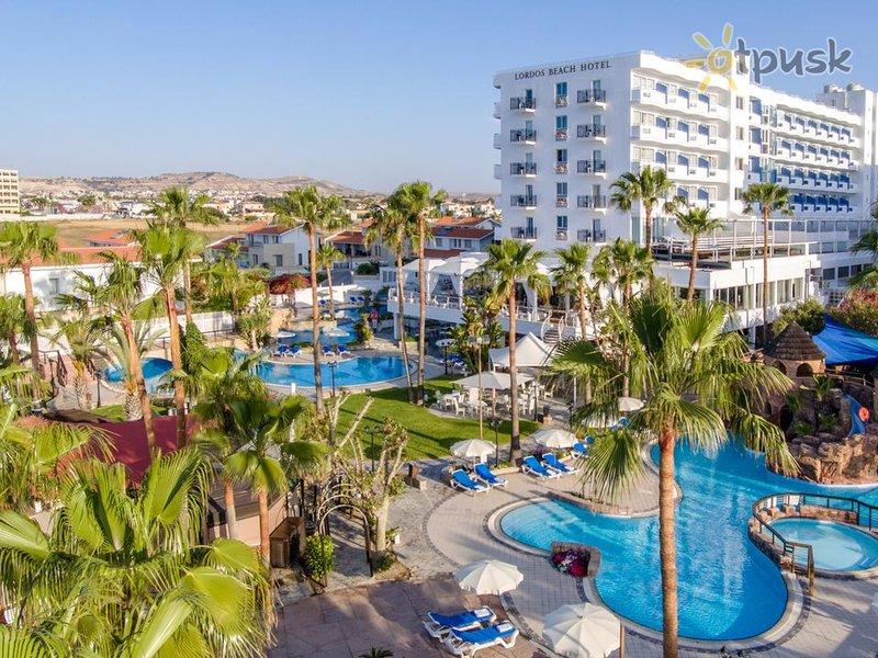 Отель Lordos Beach Hotel 4* Ларнака Кипр