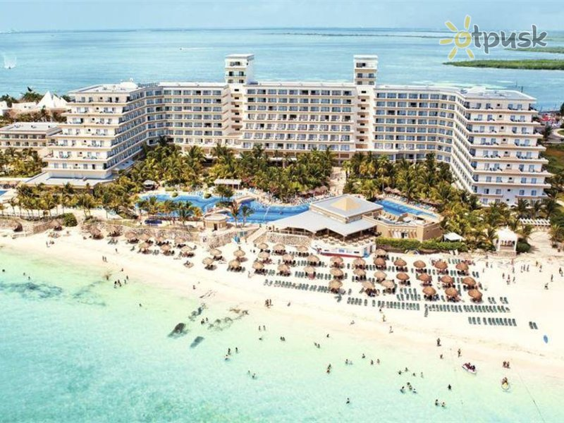 Отель Riu Caribe Hotel 5* Канкун Мексика