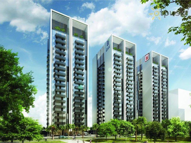 Отель Millennium Mont Rose Executive Apartments 3* Дубай ОАЭ
