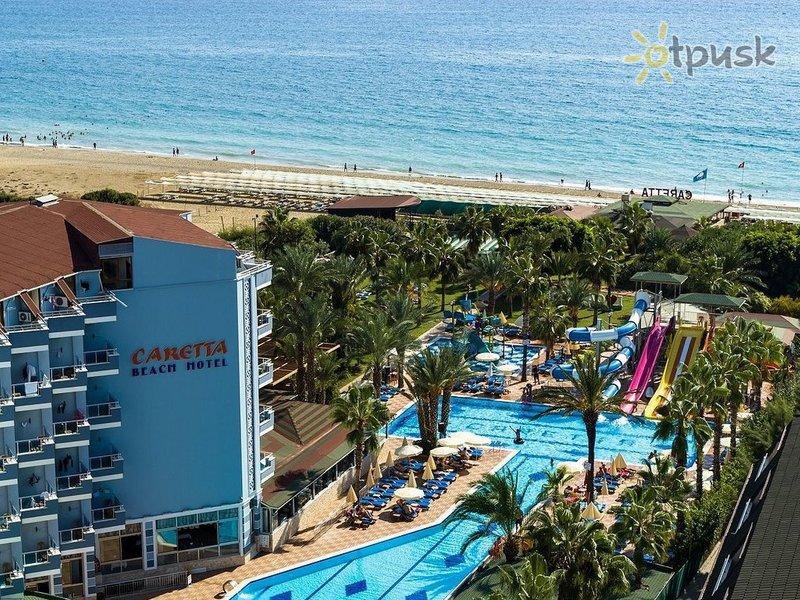 Отель Caretta Beach Hotel 4* Алания Турция